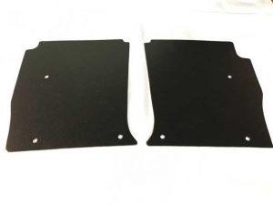 LH-LX-UC Torana Black Embossed Board Kick Panels PAIR