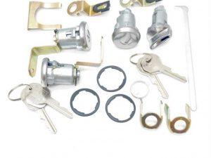 Early Holden-LC Torana Lock Set-Ignition Doors-Boot set