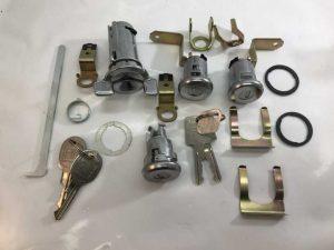 LH-LX Torana Ignition Barrel with 2 Door Lock and Keys plus Boot Locks and Keys