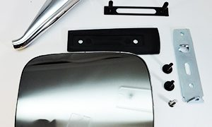 Door Mirror Assembly Left Hand for HQ HJ HX HZ WB Holden LH LX UC Torana and TX TG Gemini