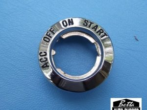 Ignition Switch Bezel XK - XL - XM - XP Ford Falcon - also fits Ford Mustang 1962 to- 1964 Models