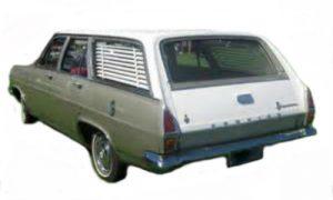 HR Holden Wagon Rubber Kit