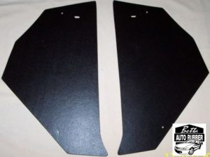 FE-FC Holden Black Embossed Board Kick Panels Pair