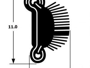 Door Belt Weather Strip