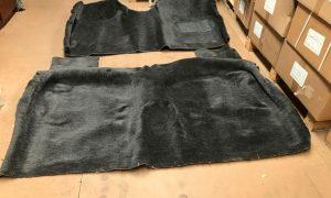 EL Ford Falcon Sedan Wagon Moulded Carpet Set Charcoal Plush Pile