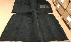 HK HT HG Holden Monaro 2 Door Coupe Moulded Carpet Set BLACK LOOP PILE