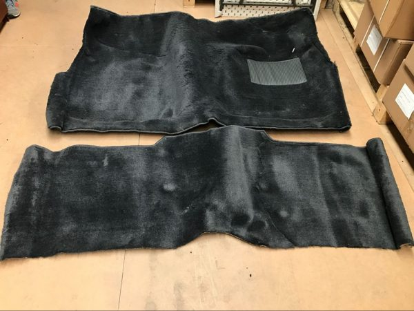 XR-XT-XW-XY UTE OR PANELVAN FRONT & REAR COLUMN SHIFT CARPET SET-CHARCOAL PLUSH PILE | Car Rubber Kits Gold Coast | Car Rubber Seals | Better Auto Rubber