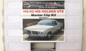 HX HZ WB Holden Ute Master Clip Kit - Mega AWESOME 458 Piece Kit