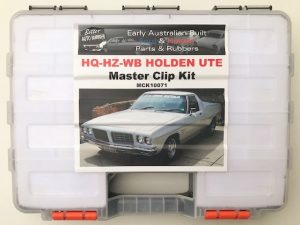 HX HZ WB Holden Ute Master Clip Kit - Mega AWESOME 458 Piece Kit