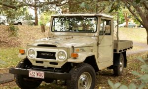45 Series Ute Toyota Land Cruiser Interior Parts and Trim