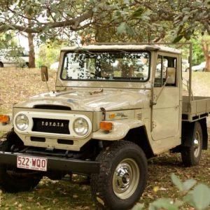 45 Series Ute Toyota Land Cruiser