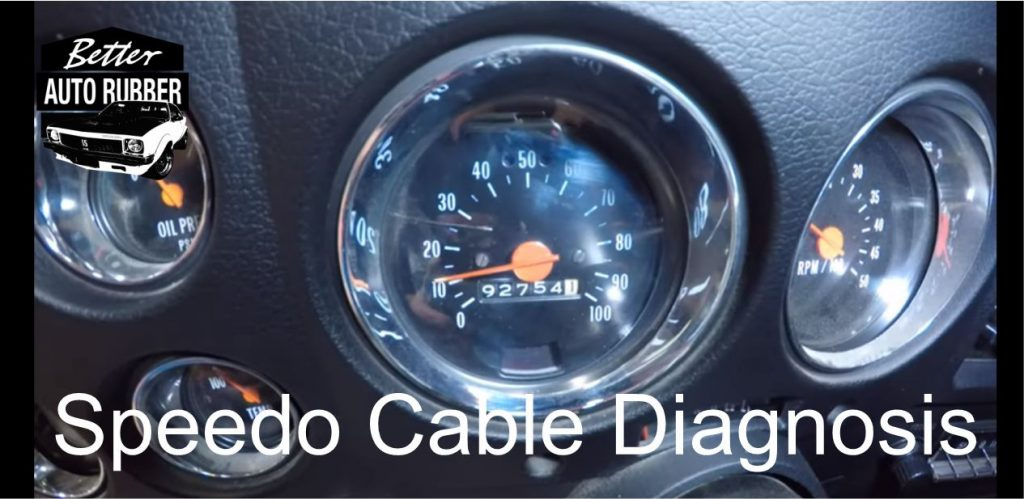 how to install a speedo cable