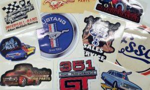 Vintage Ford decals
