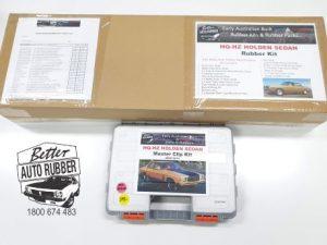 HQ Holden Sedan Rubber Kit