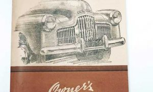 Old Holden Cars Owners Manual